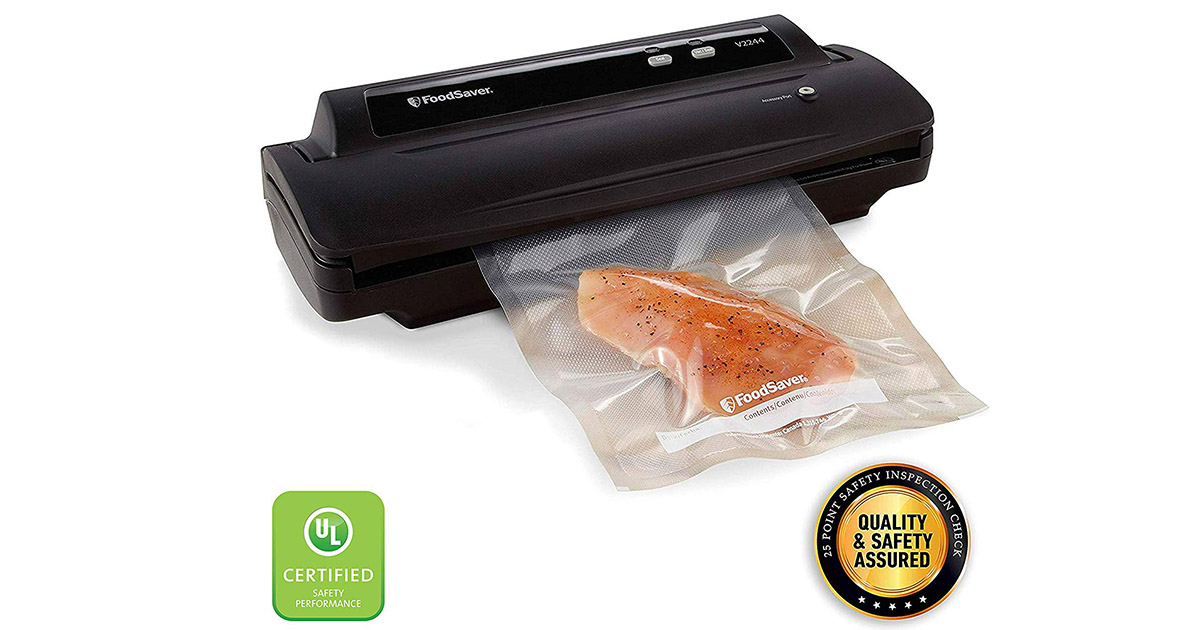 FoodSaver V2244 Black Vacuum Sealer Machine image