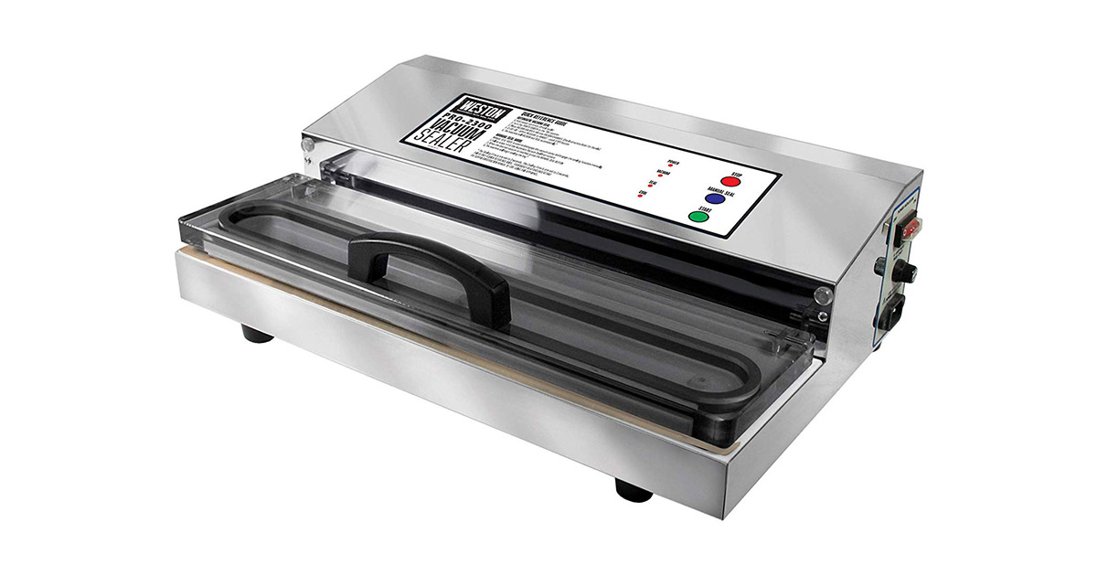 Weston 65 0201 Pro 2300 Commercial Grade Stainless Steel Vacuum Sealer image