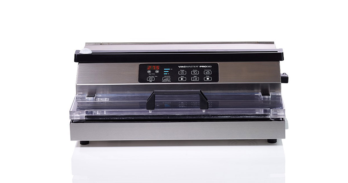 VacMaster PRO380 Suction Extended 16inches Seal Bar Vacuum Sealer image