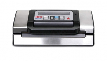 NESCO VS-12 Vacuum Sealer – Different settings lets you choose the best for your food!