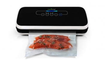 NutriChef PKVS18BK Vacuum Air Sealing System – Affordable, Compact & Easy to Operate!
