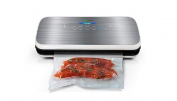 NutriChef PKVS18SL Air Vacuum Sealer – Efficient, Easy to Operate yet Affordable!